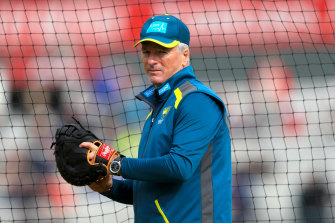 Steve Waugh has been back in the Australian camp as a mentor during this year's Ashes.