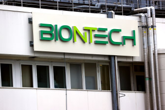 The BioNTech production facility in Marburg, Germany.