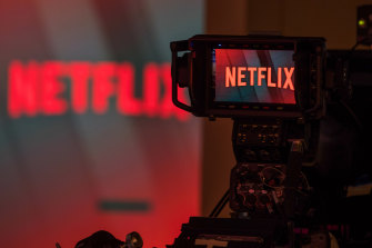 The shopping site gives Netflix a new way to bring in cash after a quarter in which its explosive growth showed signs of slowing down in the increasingly crowded field of streamed entertainment.