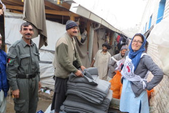 Nazemi-Salman says her work in Afghanistan exposed her to the full range of the work of the Red Cross.
