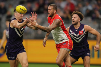 John Longmire is happy with how Lance Franklin's fitness is trending.
