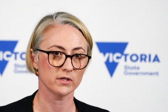 Deputy Chief Health Officer Annaliese van Diemen defended Victoria's management of the outbreak on Saturday.