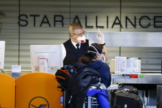 Trump's new travel restrictions created confusion at European airports.