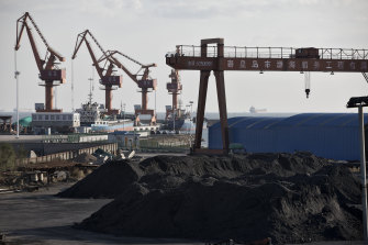 The OECD last month warned that Australia's recovery from the pandemic recession could be held back by its dispute with China as coal exports to the country are squeezed.