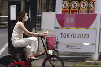 The Tokyo Games are scheduled to begin in less than two months.