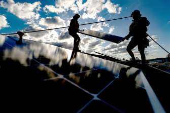 Continued growth in large-scale renewables and rooftop solar power is reducing the demand for coal-fired power.