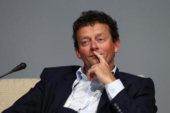 Glencore chairman Tony Hayward Tony Hayward will step down by next year's annual general meeting at the latest.