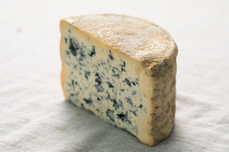 Fourme d'Ambert blue-veined French cheese from the region of Auvergne is among the cheeses at risk.
