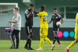Sheriff Tiraspol qualified for the Champions League by beating Dinamo Zagreb last month.