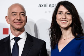 The splitting of assets between Jeff Bezos and Mackenzie Scott made her a substantial donor in her own right.