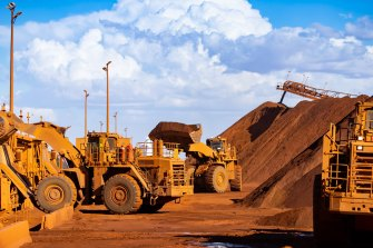 BHP and other Australian miners have received a massive boost over the past year as the price of iron ore, the nation's biggest export, hit a record $US230 a tonne.