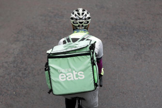 A taskforce will investigate whether delivery riders should have more protections.