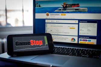 The price of GameStop shares has been extremely volatile but after gaining so much in an investor frenzy, the company intends to cash in on it.