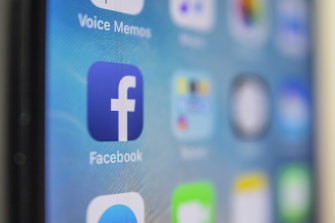 The iPhone was a key device for people to use Facebook's mobile app.