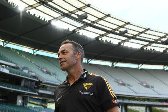 Alastair Clarkson says the league and the clubs have handled the crisis well as they gear up for the restart of the season.