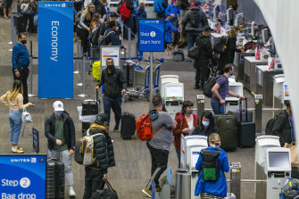 Sunday was the busiest day for air travel in the US since the start of the pandemic.