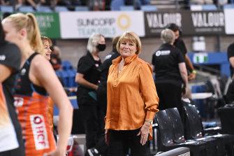 Giants coach Julie Fitzgerald.
