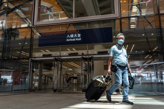 Travellers to Hong Kong must undergo 21 days of quarantine.