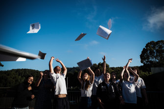 As a bad set of numbers echo around Australia's education system, VCE students anxiously await their own results.