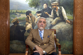 Abdullah Abdullah is the main rival to the incumbent president in Afghanistan's election.