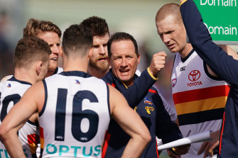Don Pyke took the Crows to a grand final during his four-year tenure.