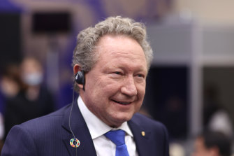 Andrew Forrest has turned up the heat on BHP in the fight for Noront Resources.