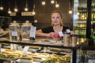 Mr Tulk Cafe co-owner Maria Togias, who was hoping for spending on the CBD.