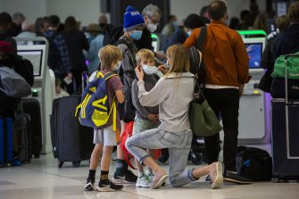 Australians who live overseas will now have to get permission to leave the country if they are here temporarily.