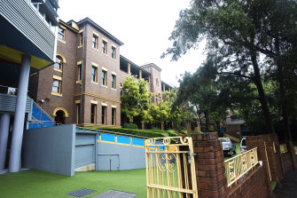 Reddam House at Woollahra, where the school's kindergarten to year 9 students have their classes.