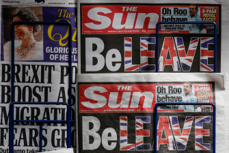 The Sun was Britain's most widely read paper for more than four decades.