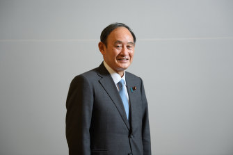 Yoshihide Suga's replacement as Japan's Prime Minister will be primed to take over by the time he returns from the United States.