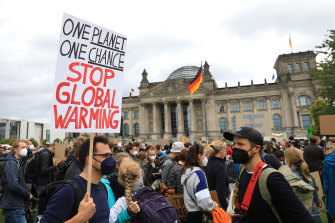 Climate change has been a major issue in the German elections.