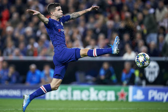 Christian Pulisic was on target for Chelsea but they ended up drawing with Valencia.