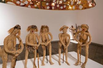 Tjanpi Desert Weavers, Kungkarangkalpa (Seven Sisters), 2020