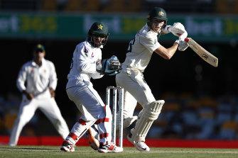 Marnus Labuschagne during Pakistan's last tour of Australia in 2019.