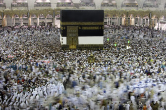 Some 2.5 million Muslims travelled to Mecca for the Haj last year.