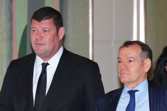 Master and Commander: James Packer and John Alexander.