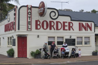 For sale: Apsley's Border Inn, the beating heart of the town.