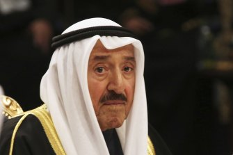 Emir Sheikh Sabah al-Ahmad al-Sabah had been in hospital in the US since July following surgery.