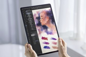 Clip Paint Studio is a great app from the Galaxy Store, but it falls short of Adobe's suite on iPad.