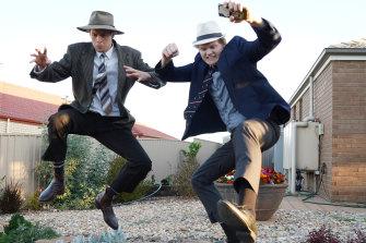 South Australian YouTube sensations Lachlan (left) and Jaxon Fairbairn.