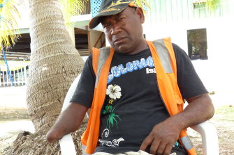 A fish bomber on Tulagi in the Solomon Islands lost his arm after using material from unexploded World War II munitions in a homemade bomb.