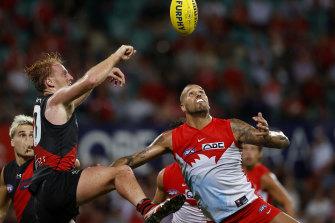 Essendon versus Sydney Swans match will move to the MCG.