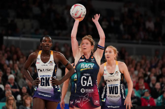 A new 'super shot' in netball has stirred a fierce response.