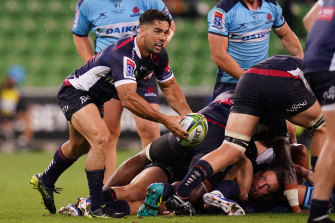 Ryan Louwrens made an impact for the Rebels against the Waratahs.