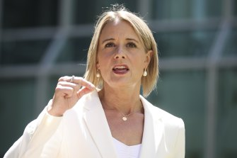 Labor frontbencher Kristina Keneally, who the party will move into the seat of Fowler, over a local, Tu Le.