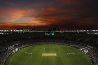 WA hopes to host an Indian Test next summer.