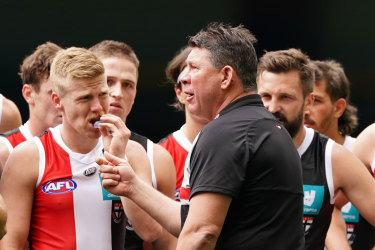 The Saints disappointed against North in round one.