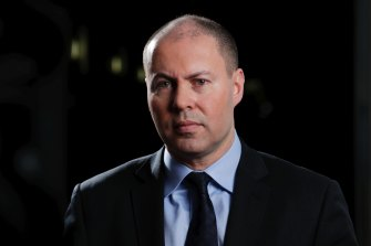 """Environment and Energy Minister Josh Frydenberg accused Labor states of """"politicking""""."""