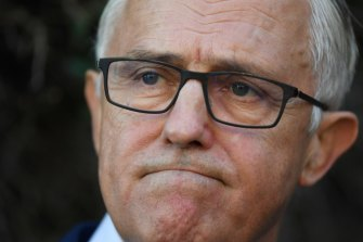Former prime minister Malcolm Turnbull struck down the Uluru statement proposal in 2017.